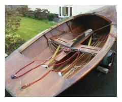 1972 - Vintage Wooden Boat.