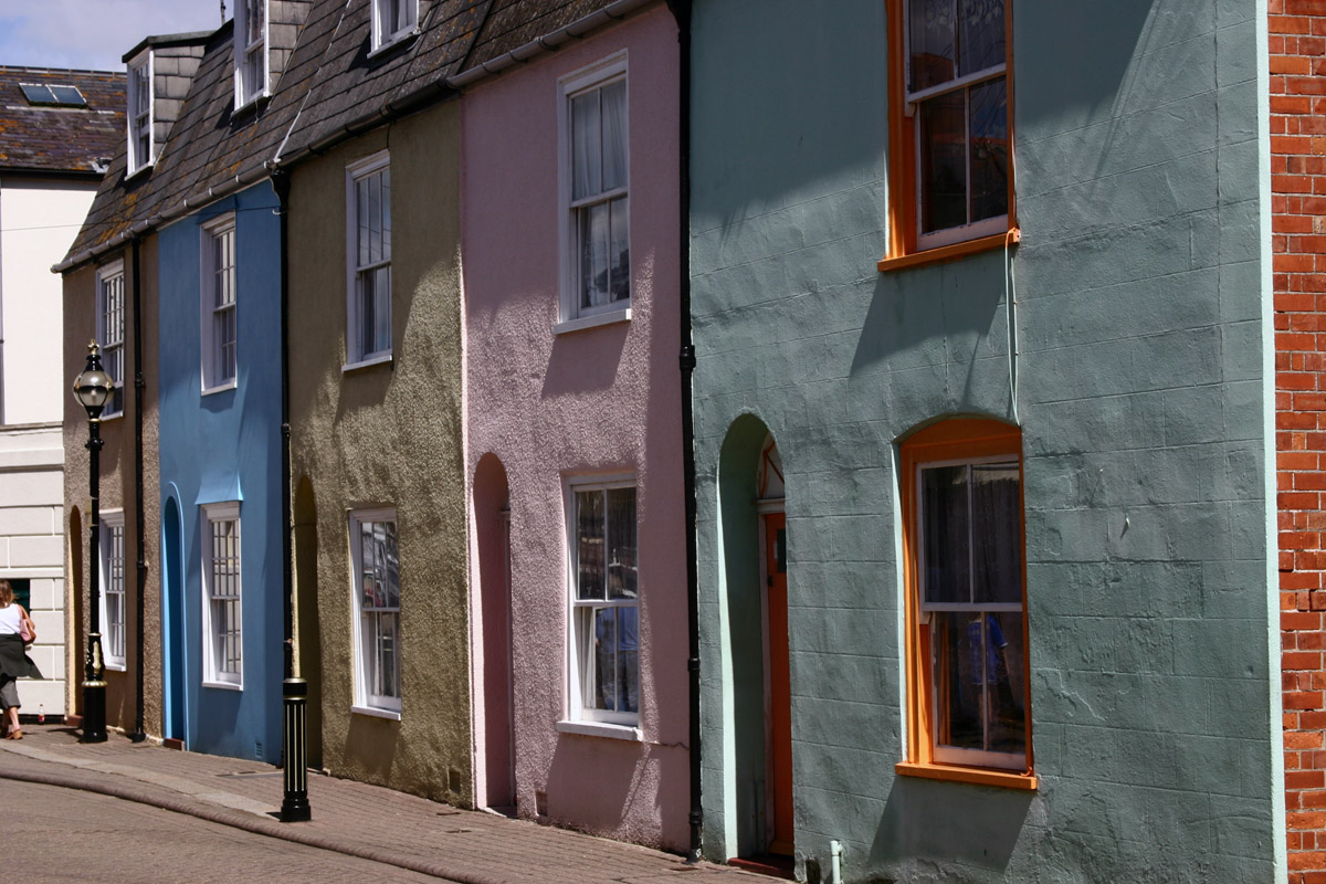 Weymouth coloured houses